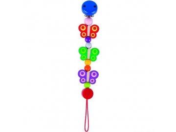 Heimess dřevěné hračky - Klips na dudlík s motýlky