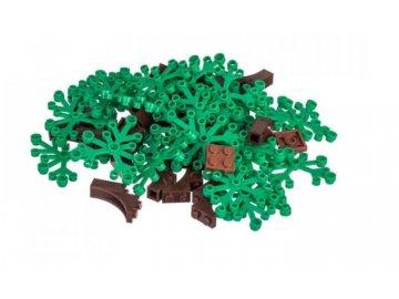 L-W Toys Kreativní set stromy 50 ks