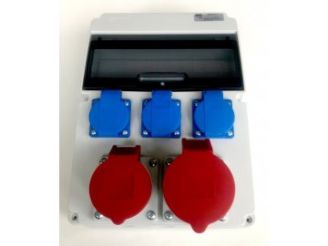 Stavební rozvaděč AEP RSJ-0113, 1x32A 5P, 1x16A 5P, 3x 230V