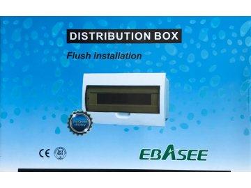 Rozvodnice pod omítku EBASEE EBD5D 8M
