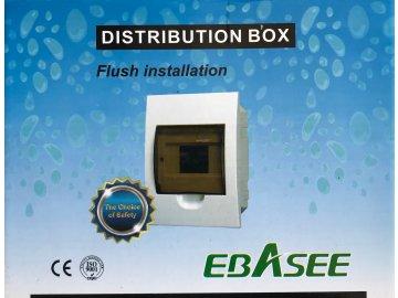 Rozvodnice pod omítku EBASEE EBD5D 6M