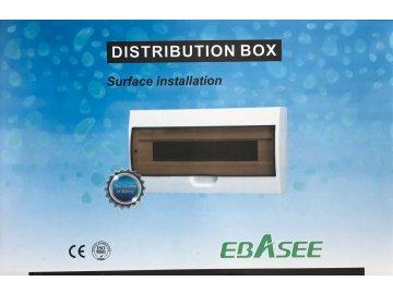 Rozvodnice na omítku EBASEE EBD5D 8M