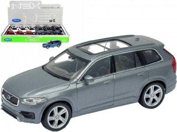WELLY Auto kovové 12cm Volvo XC 90 model 1:36 volný chod 4 barvy