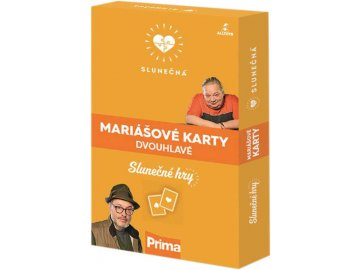 EP Line Hra karty mariášové dvouhlavé Slunečná *SPOLEČENSKÉ HRY*