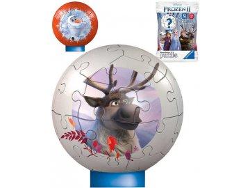 RAVENSBURGER PUZZLE 3D Frozen 2 puzzleball 27 dílků s překvapením