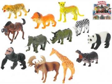 Zvířátko plastové africké safari 11-15cm různé druhy
