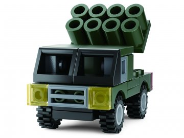 Sluban Builder M38-B05396 4 Army 1ks B