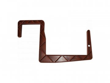 Držák truhlíku universal 15cm (na hranu) terakota