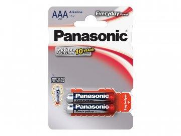 Baterie AAA (R03) alkalická PANASONIC Everyday Power 2BP
