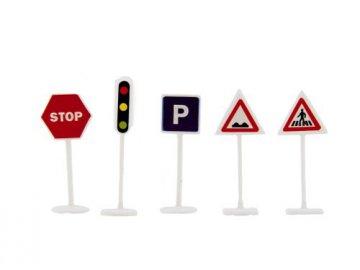 Dětské dopravní značky TEDDIES 14ks