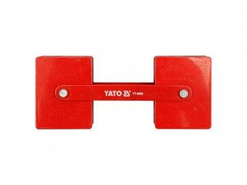 Magnetický držák ke svařování YATO YT-0862 polohovací 2x22,5kg