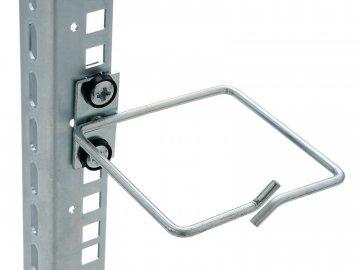 Háček Triton pro vedení kabelů 40x40 kovový