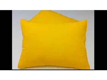 Polštářek - macík sada 2ks 35x45 - Žlutý