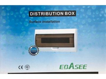 Rozvodnice na omítku EBASEE EBD5D 12M