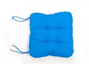 Sedák na křeslo - Modrý