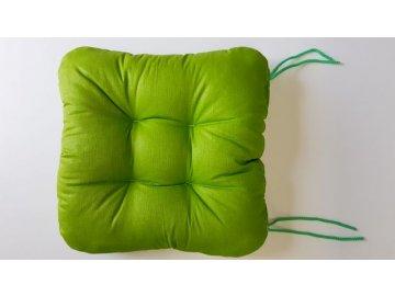 Sedák na židli - Jarní zelená