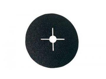 Brusný disk vulkánfíbrový na kov a dřevo 180 mm K80 ERBA ER-6218080