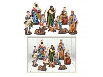 Betlém Vánoční dekorace sada 10ti figurek