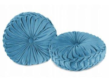 Tutumi Dekorační polštář Glamour - modrá