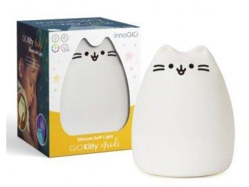Innogio Přenosná silikonová lampička - Kitty