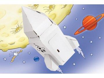 Tektorado Malá kartonová vesmírná raketa