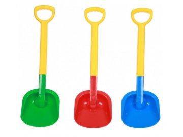 Leszko Plastová lopata velká - různé barvy