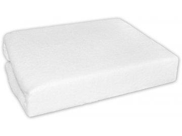 Frotti Froté prostěradlo do postele - bílé