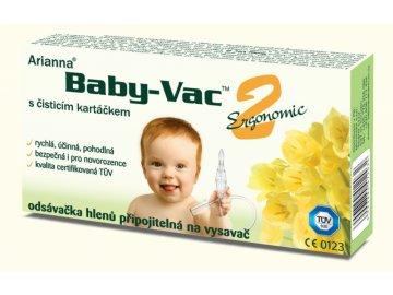 Arianna Kojenecká odsávačka hlenů - Arianna Baby-vac 2 s čisticím kartáčkem