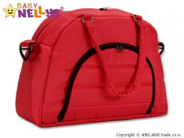 Taška na kočárek Baby Nellys ® ADELA LUX - červená