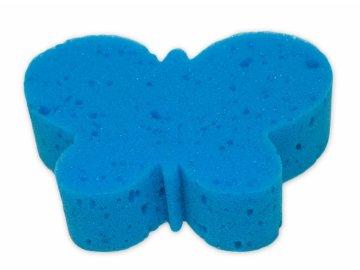 Cleanex Dětská koupelová houba - zvířátko, modrá