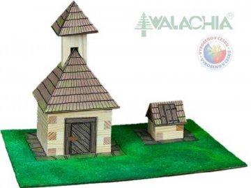 WALACIA Zvonice a studna 33W9 dřevěná stavebnice