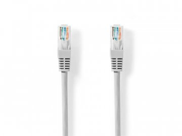 Kabel UTP 1x RJ45 - 1x RJ45 Cat5e 0.5m GREY NEDIS CCGT85100GY05