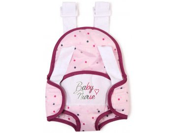 SMOBY Baby Nurse Klokanka nosítko pro panenku miminko 42cm