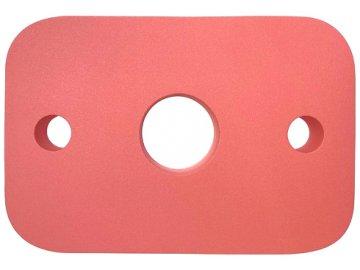 MATUŠKA-DENA Deska plavecká malá 30x20cm červená plovák do vody
