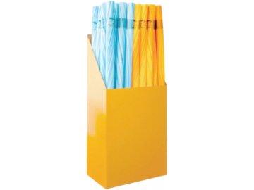 MATUŠKA-DENA Vodní nudle žíhaná 156x7cm oranžová soft pěnová žížala