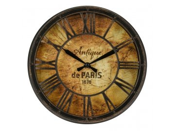 Hodiny nástěnné Antique PARIS 21 cm