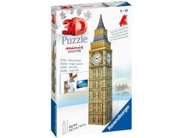 RAVENSBURGER Puzzle 3D Mini budova Big Ben 54 dílků plast