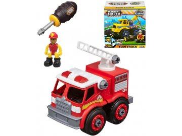 NIKKO Auto šroubovací City service set s figurkou a nástrojem 3 druhy
