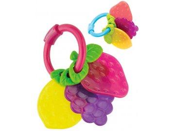 LAMAZE Baby kousátko svazek ovoce 3ks plast pro miminko