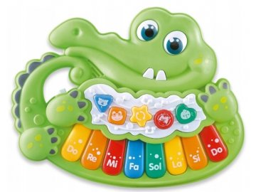 Piánko - Krokodýl, zelené