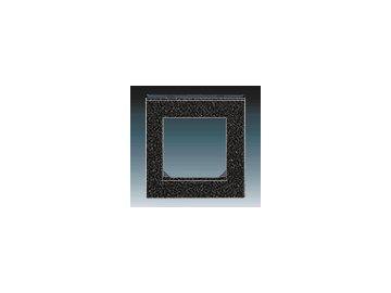 Rámeček jednonásobný - onyx/kouřová černá 3901H-A05010 63