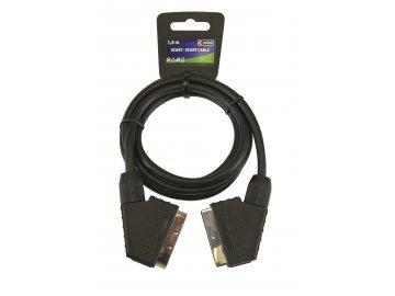 AV kabel SCART - SCART 1,5 m Emos SL2001
