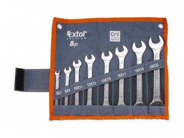 Klíče ploché EXTOL PREMIUM 6119 8ks