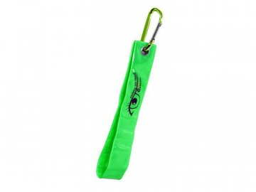 Reflexní přívěšek s karabinou S.O.R. zelený COMPASS 01575