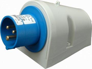 IPN 1632 Přívodka nástěnná 230V 3P 16A IP44 SEZ