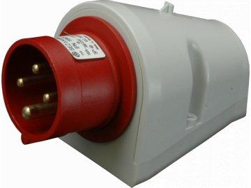 IPN 1643 Přívodka nástěnná 400V 4P 16A IP44 SEZ