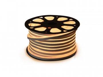 LED neon flexi hadice 230V 120LED/m 12W/m bílá teplá 50m