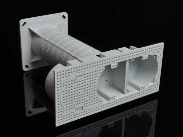 Krabice elektroinstalační vícenásobná do zateplení KEZ-3 KB Kopos