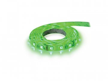 LED pásek 12V 5050  60LED/m IP20 max. 14.4W/m zelená (cívka 1m)