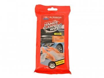 Ubrousky na ruce DM HANDS CLEANING LEMON 30ks